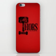 Thors Pet Shop iPhone & iPod Skin