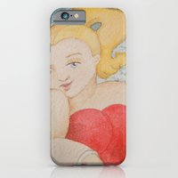 iPhone & iPod Case featuring That look by Lori Dean Dyment