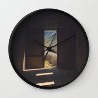 Room in the High Desert Wall Clock