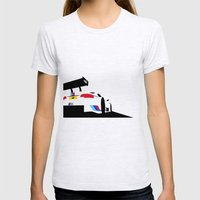 M3 DTM Womens Fitted Tee Ash Grey SMALL