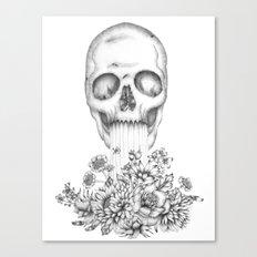The Birth of  Death Canvas Print