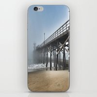 Foggy Beach iPhone & iPod Skin