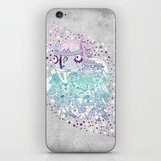 Glam fashion owls iPhone & iPod Skin