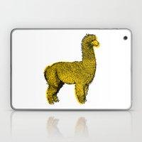 huacaya alpaca Laptop & iPad Skin