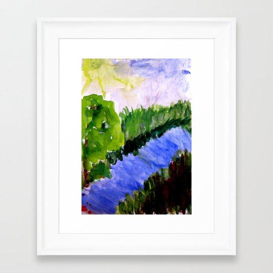 Summer, where are you Framed Art Print