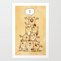 Shout It Out! Art Print