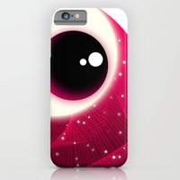iPhone & iPod Case featuring Red Dot Eye by Süyümbike Güvenç