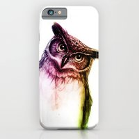 iPhone & iPod Case featuring The wise Mr. Owl by Isaiah K. Stephens