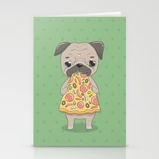 Pizza Pug Stationery Cards
