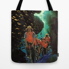 Bike Tour Tote Bag