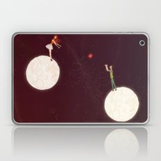 2 moons, a girl and a boy! Laptop & iPad Skin