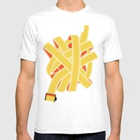Great Balls Of Film Mens Fitted Tee White SMALL
