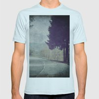 8845 Mens Fitted Tee Light Blue SMALL