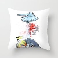 Stupid Politicians Throw Pillow