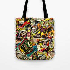Unexpected - Part III [Final Chapter: Space Riot] Tote Bag