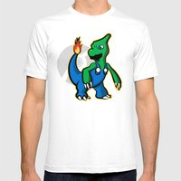 Charigi Mens Fitted Tee White SMALL