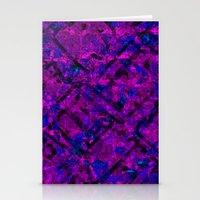 Vitrage (Purple) Stationery Cards