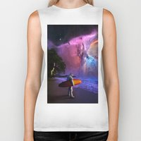 Space Surfer Biker Tank