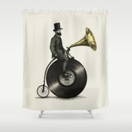 Music Man Shower Curtain