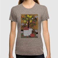 We Need The BEE! Womens Fitted Tee Tri-Coffee SMALL