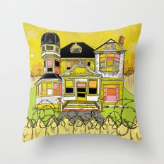 Your Home is Your Castle Throw Pillow