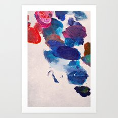 Painter's Palette Art Print