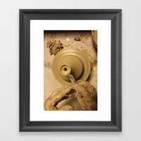 ceramic Framed Art Print