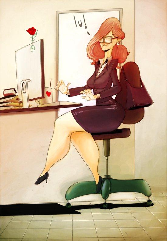 Secretary Art Print