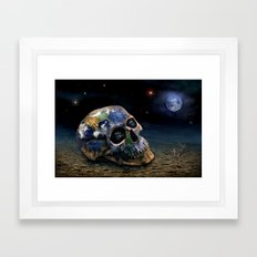 Save our World 16 Framed Art Print