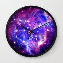 Galaxy. Wall Clock
