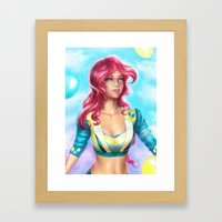 Pinkie pie Framed Art Print