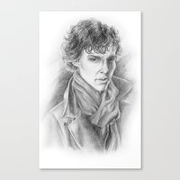 Sherlock Homles Canvas Print