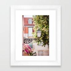 Lisbon Lamp Framed Art Print