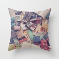 Book Mania! (2) Throw Pillow