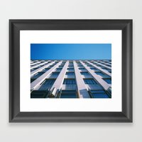 Ligne D'horizon Framed Art Print