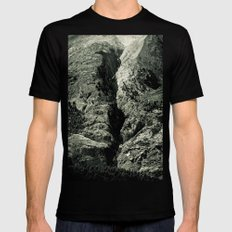 You will always find your Path SMALL Mens Fitted Tee Black