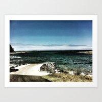 Coastal Inlet Art Print