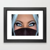 There's Something Differ… Framed Art Print