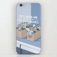 Ice Cold Bears iPhone & iPod Skin