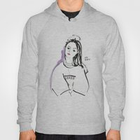 Mary - Girl In Marker An… Hoody