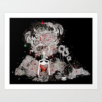 Starry Holiday Art Print