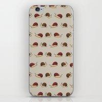 Cute Snail Cartoon Patte… iPhone & iPod Skin
