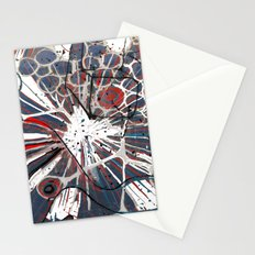 Abstract Duck Face Stationery Cards