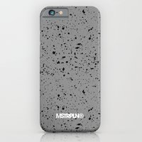 iPhone & iPod Case featuring Retro Speckle Print - Grey by MSTRPLN®
