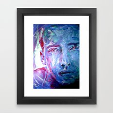 Mr BLUE Framed Art Print