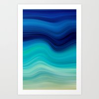 SEA BEAUTY 2 Art Print