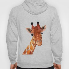Giraffe Watercolor Hoody