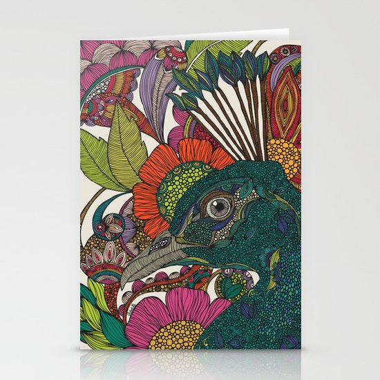 Alexis and the flowers Stationery Card