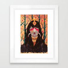 The Tree Witch Framed Art Print