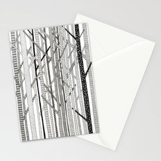 Pattern Trees Stationery Cards